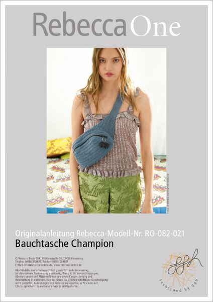 Anleitung - Bauchtasche Champion